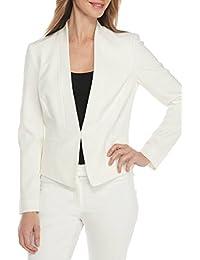 レディース 2点セット スーツ パンツ ホワイト フォーマル ビジネス カジュアル 通勤 大きいサイズ ストレッチ