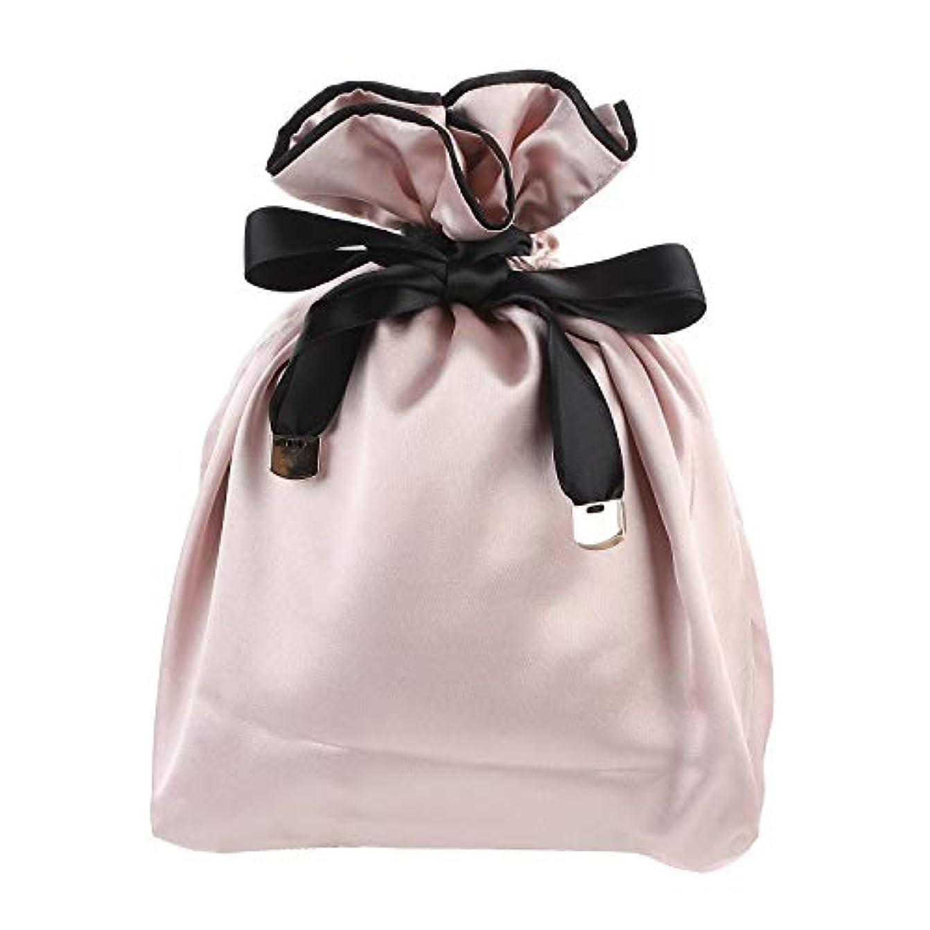 事実一月白いNEOVIVA 巾着 袋 女の子 化粧品ポーチ 小物入れ スベスベ 旅行 ギフト ピンク 巾着袋だけ