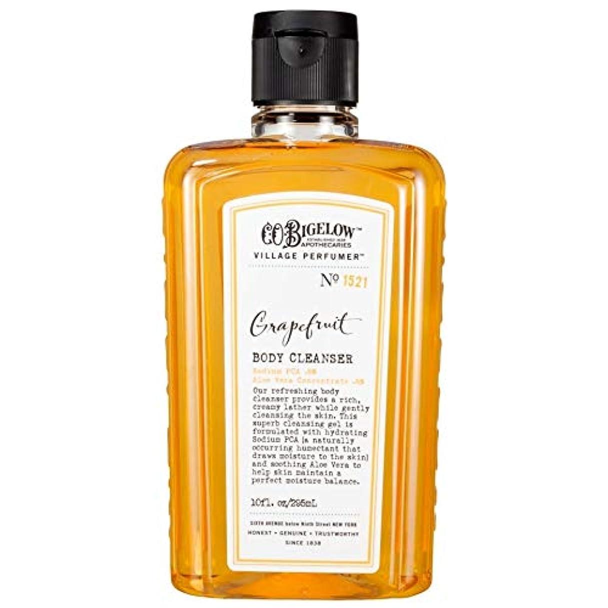 ホステル採用第二[C.O. Bigelow] C.O.ビゲローグレープフルーツボディクレンザー - C.O. Bigelow Grapefruit Body Cleanser [並行輸入品]