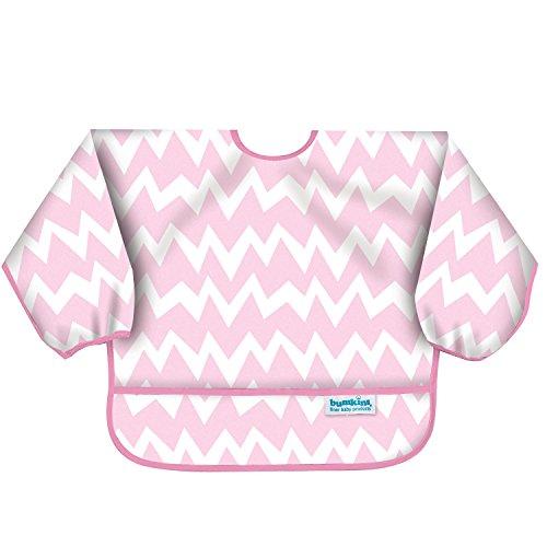 バンキンス スリーブビブ 長袖タイプ 6~24ヶ月 Pink Chevron ピンク ベルクロタイプ SUV500