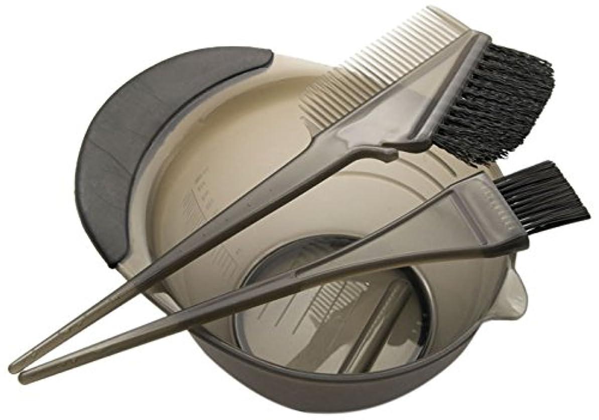 くつろぎ四回マートDEEDS E-0001 プロ用 へアカラーセット ブラック