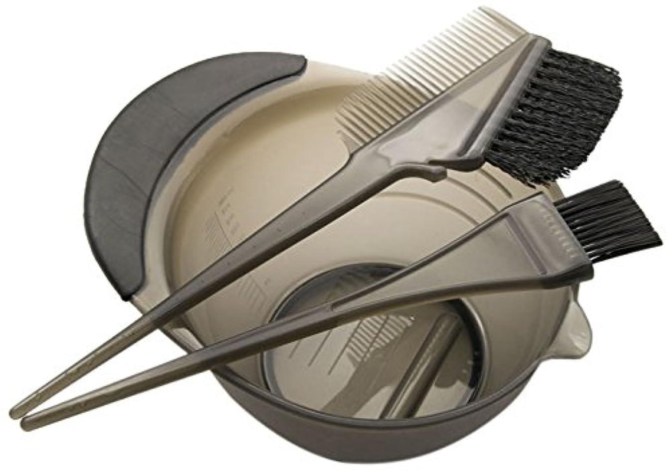 朝パドル洞察力のあるDEEDS E-0001 プロ用 へアカラーセット ブラック
