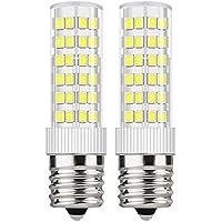 DiCUNO E17口金 LED電球 50W形相当 昼白色6000K 5W 550ルーメン 50W形 セラミック基盤 全配光タイプ 密閉器具対応 2個入 (e17-5W、昼白色)