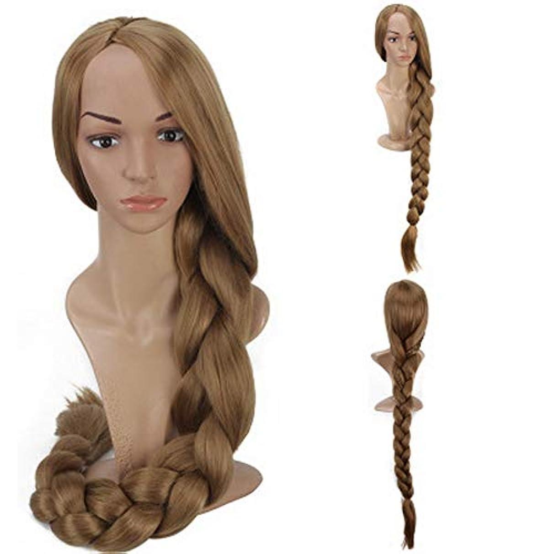衝突する屋内バン女性のための色のかつら長いウェーブのかかった髪、高密度温度合成かつら女性のグルーレスウェーブのかかったコスプレヘアウィッグ、女性のための耐熱繊維の髪のかつら、紫色のウィッグ47インチ