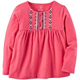 カーターズ Carter's トップ Embroidered Babydoll Top 12M (72-78cm) [並行輸入品]