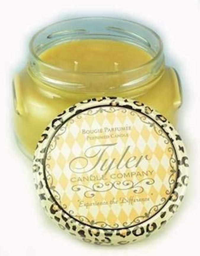 少数夕暮れ財産Connoisseur Tyler 11 oz Medium香りつき2-wick Jar Candle