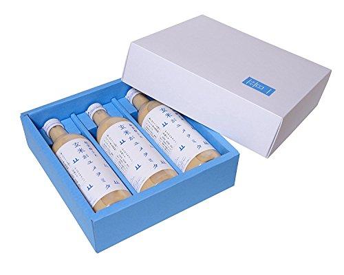 糀発酵玄米玄コシヒカリアモーレのみした甘酒(玄米がユメヲミタ)×3本