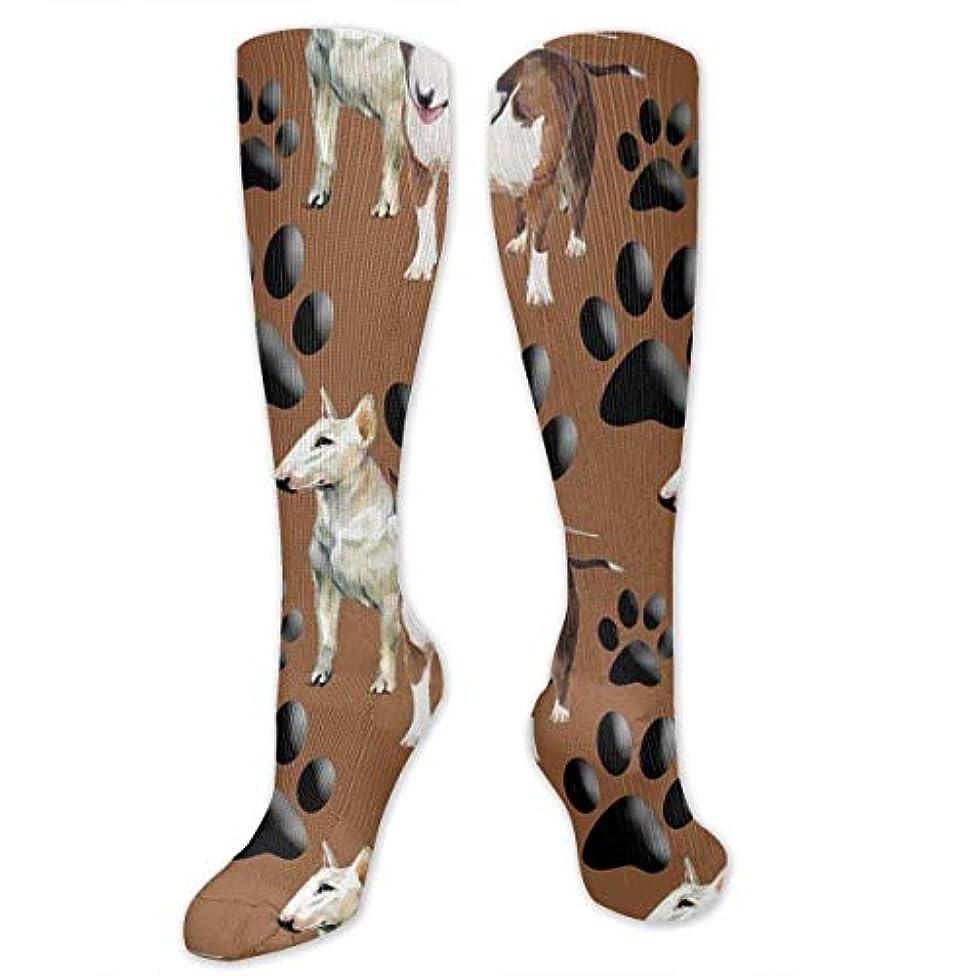 第三スマイル羨望靴下,ストッキング,野生のジョーカー,実際,秋の本質,冬必須,サマーウェア&RBXAA Bull Terriers Paw Socks Women's Winter Cotton Long Tube Socks Knee...