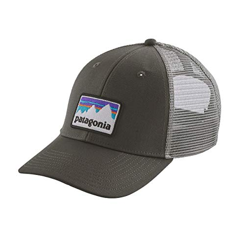 (パタゴニア) patagonia Shop Sticker Patch LoPro Trucker Hat 38182 Forge Grey (FGE) ワンサイズ