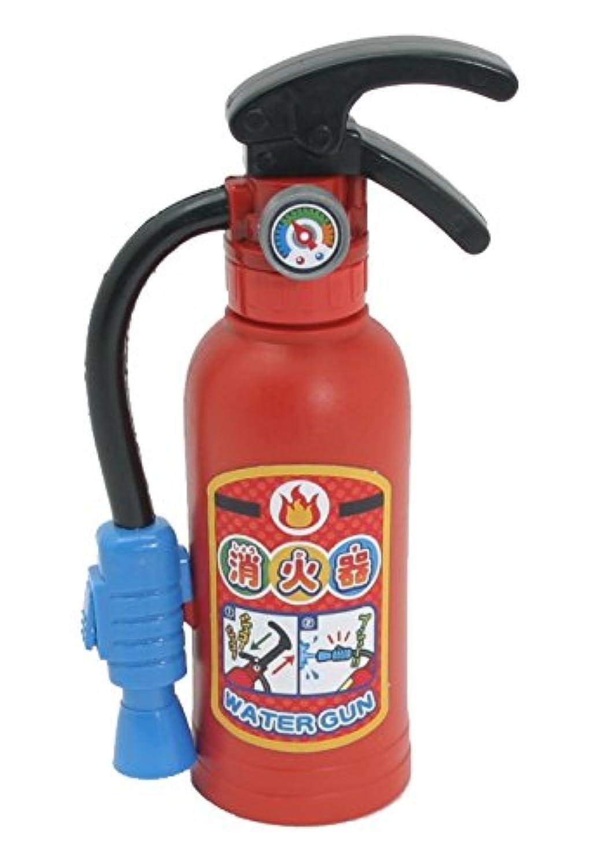 水ピストル  ちびっこファイヤーマン 6個セットまとめ買い 消火器  キッズ消防士