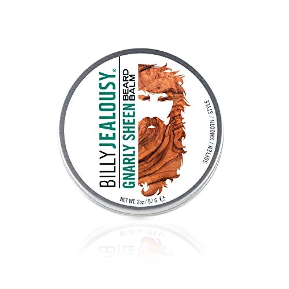 技術的な発明する方程式ビリージェラシー Gnarly Sheen Beard Balm 57g/2oz並行輸入品