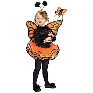 Rubie's Child's Costume, Orange Butterfly Costume-Small by Rubies TOY ドール 人形 フィギュア(並行輸入)
