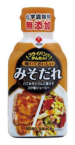 盛田 焼いておいしいみそだれ 化学調味料無添加 肉に野菜に焼きからめるだけ ボトル180g