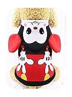 17色漫画子犬ベスト服暖かい犬服チワワフレンチブルドッグ冬犬コート用小型犬ペット猫服-5-XXL
