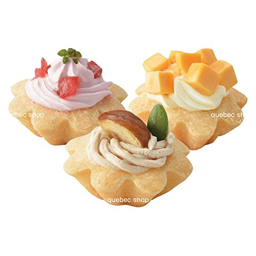 ワンちゃん用 プチタルトケーキセット (苺、栗、チーズ)