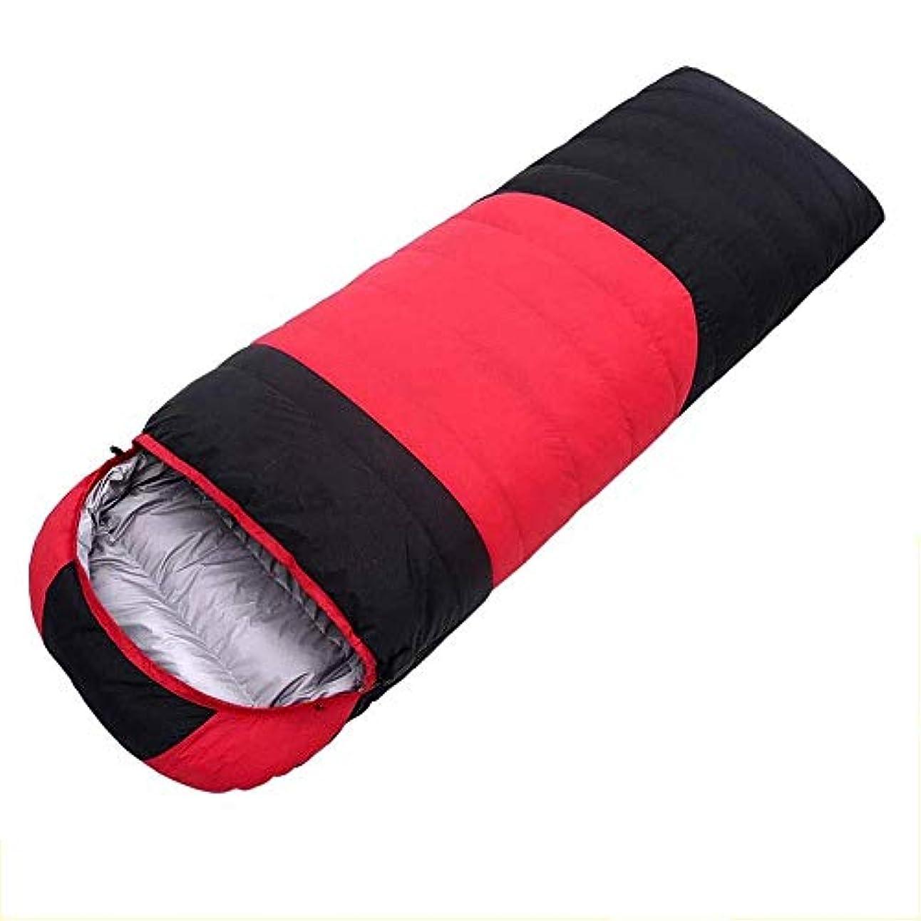 包囲アイザック受信キャンプ用寝袋 - 3シーズン暖かく涼しい大人のための軽量防水、キャンプ用品、旅行、アウトドア