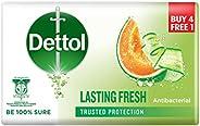 DETTOL BODY SOAP LASTING FRESH 100g 4+1