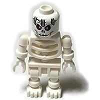 LEGOブロック?純正パーツ?ミニフィグ>skeleton スケルトン(スウィングアーム)メタルプレートパターン【並行輸入品】