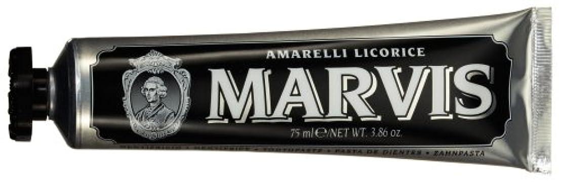 逆アミューズメント呼びかけるMARVIS(マービス) リコラス?ミント(歯みがき粉) 75ml