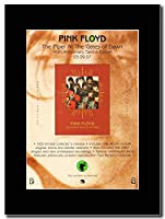 - Pink Floyd - The Piper At The Gates Of Dawn 40th Anniversary Edition - つや消しマウントマガジンプロモーションアートワーク、ブラックマウント Matted Mounted Magazine Promotional Artwork on a Black Mount