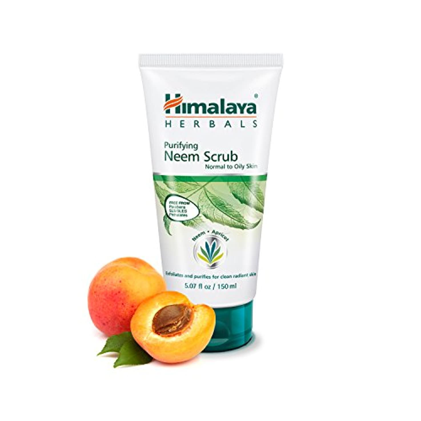 賛辞錆びハドルHimalaya Herbal Purifying Neem Scrub 100GM
