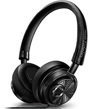 PHILIPSヘッドホン Fidelioシリーズ 密閉型/オンイヤー/Lightning接続/ハイレゾ音源対応 ブラック M2L【国内正規品】