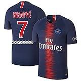 サッカー2019 パリ サンジェルマンユニフォーム 上下セット MBAPPE 背番号7 MBAPPE 大人用 (大人,MBAPPE) (L)