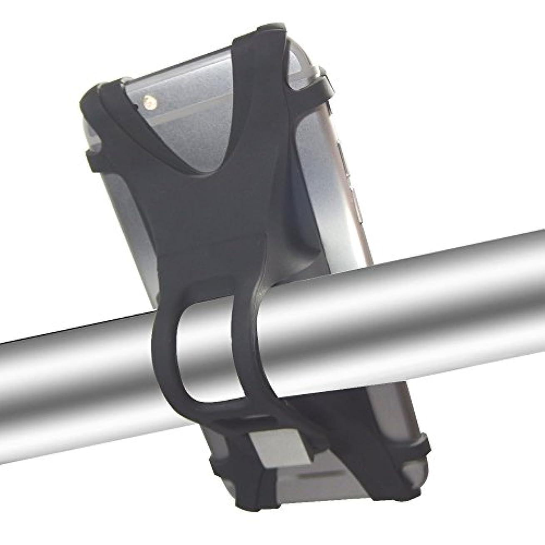 ボクシング効率的ファウル自転車 スタンド スマホホルダー J-Vesta iPhone Android 最適 オールシリコン で 傷つかず ケース装着時 でも 脱着 簡単 ベビーカー との 併用可能