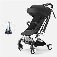 軽量ベビーカー カル多重衝撃吸収軽量折りたたみ、快適持ち運びが簡単0〜36ヶ月の赤ちゃん,C
