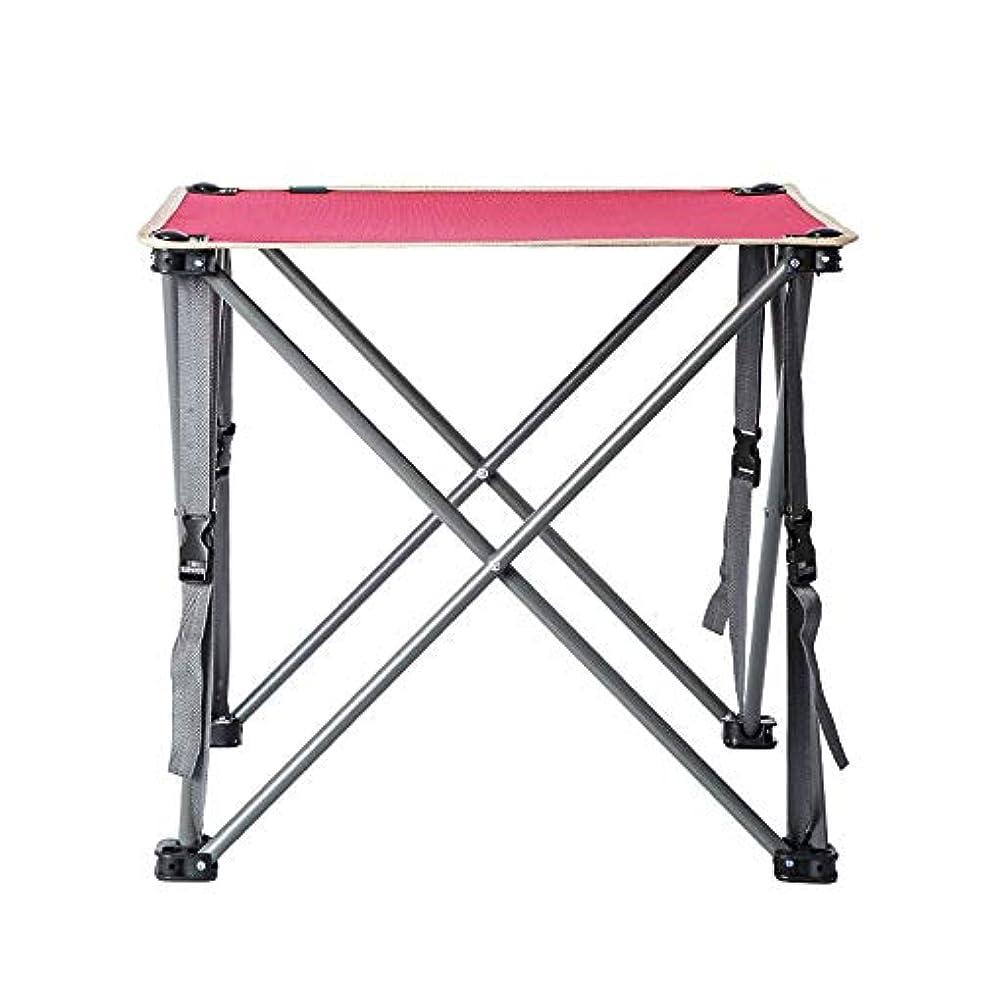 熱意リクルート服を洗うZR 屋外折りたたみテーブル、多機能ポータブルキャンプオックスフォード布ピクニックテーブル、折りたたみキャンプテーブル、自動運転野生ライト小さなテーブル