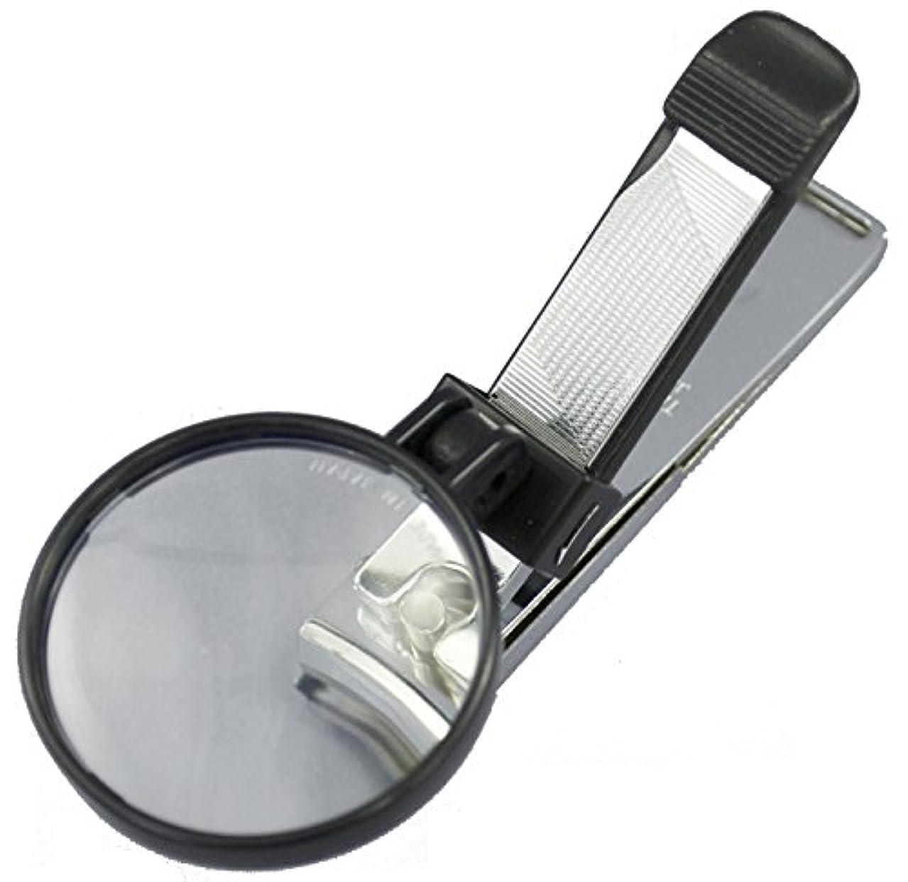 エスカレーター不快解き明かす日本製 拡大レンズ付 爪切り 足爪くん mir 1500L