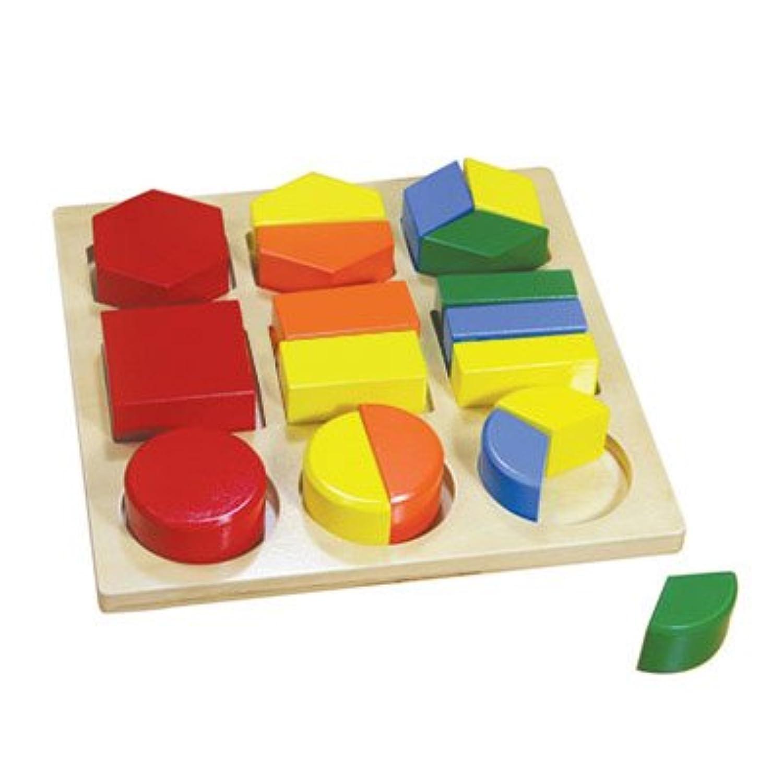 Montessoriアセンブリ幾何図形トレイ