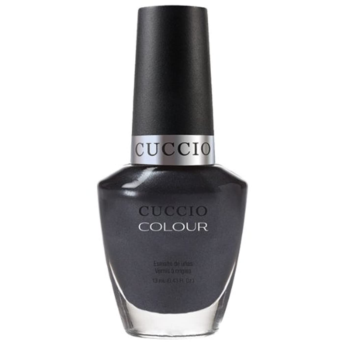 剛性雨傷つきやすいCuccio Colour Gloss Lacquer - Oh My Prague - 0.43oz / 13ml