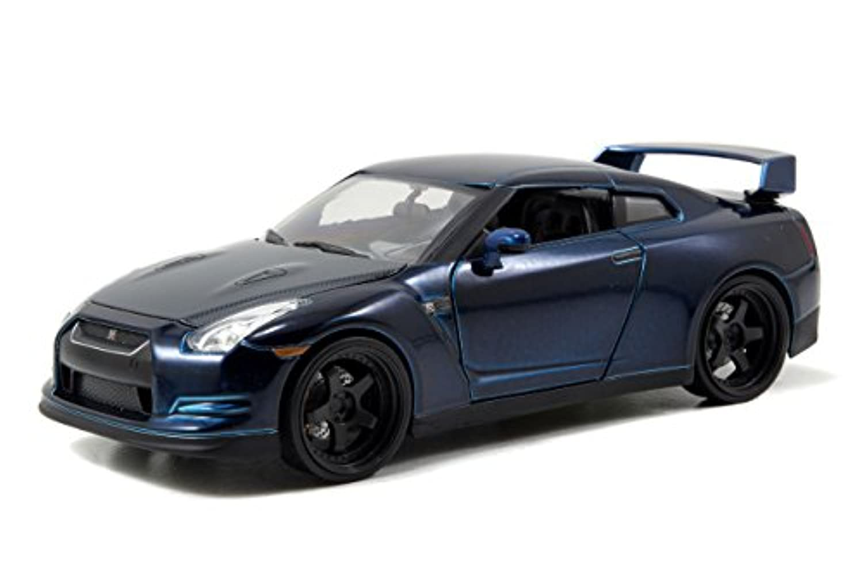 jada toys 1/24 FAST&FURIOUS ミニカーBRIAN'S2009NISSAN GT-R R35