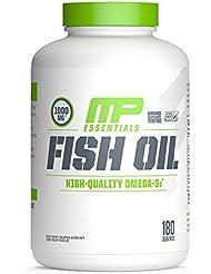 海外直送品 MusclePharm, Fish Oil Essentials 180 Servings [並行輸入品]