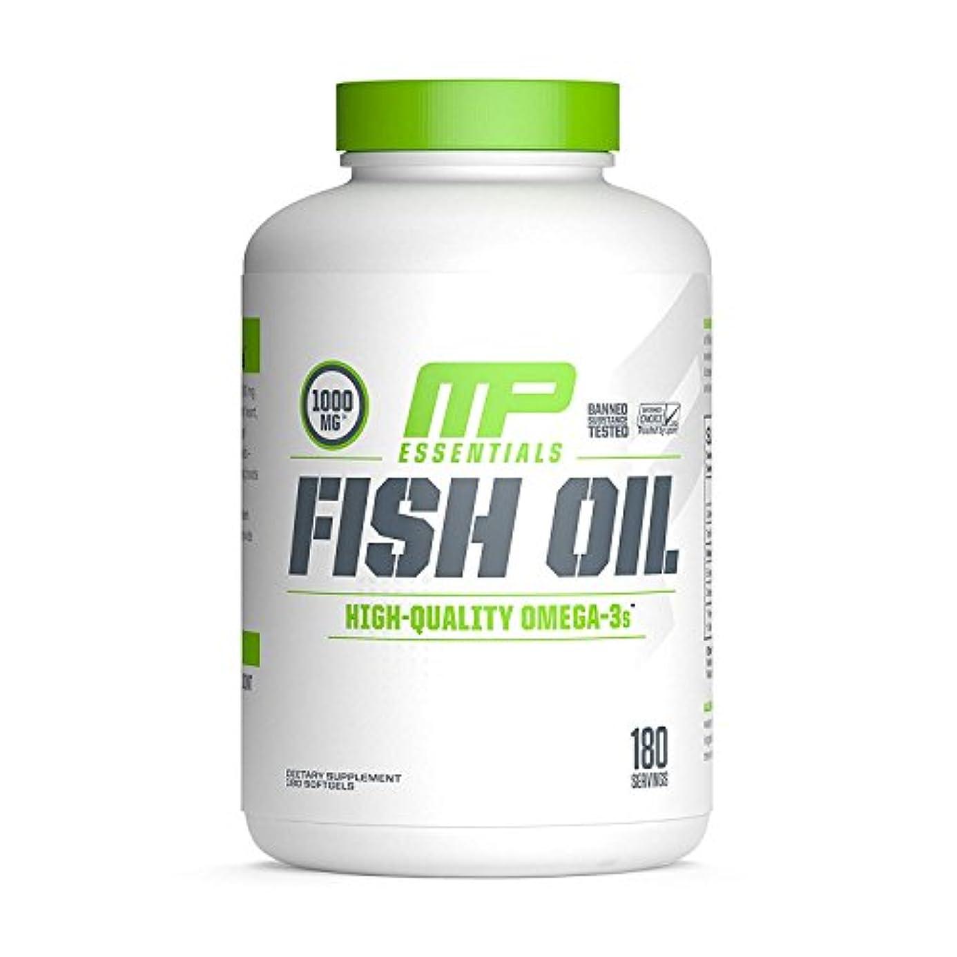 書き出す素朴なジャム海外直送品 MusclePharm, Fish Oil Essentials 180 Servings [並行輸入品]