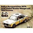 ★【ネオ】(1/43)オペル アスコナ B 1979年 ヨーロッパ・ラリー・選手権 2位 Kleint(NEO45240)