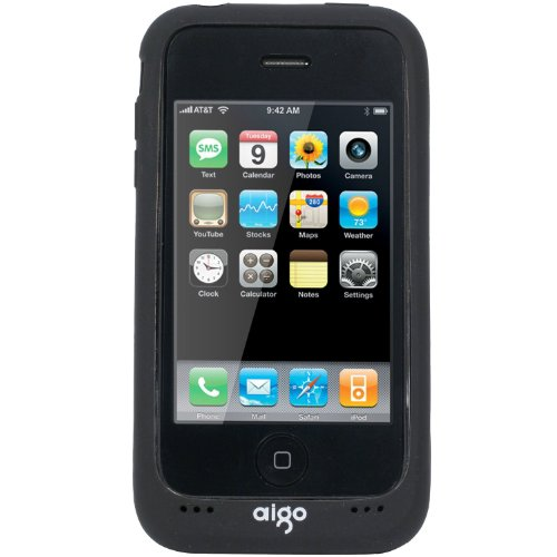 aigo iPhoneバッテリージャケット N2615 iPhone 3G/3GS対応