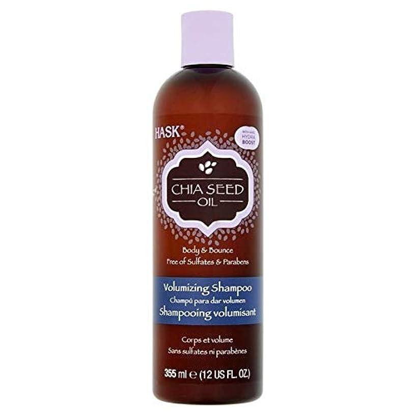 頭六月スポンジ[Hask] Haskチアシードオイルシャンプー355ミリリットル - Hask Chia Seed Oil Shampoo 355ml [並行輸入品]