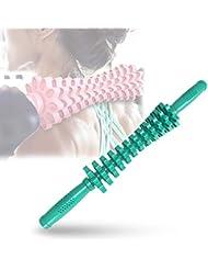 フォームローラー 筋肉マッサージおよび筋筋膜のトリガーポイント解放のためのギヤマッサージャーの取り外し可能なポリ塩化ビニールの快適な滑り止め