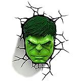 Marvel Hulk Face 3D LED Wall Night Light