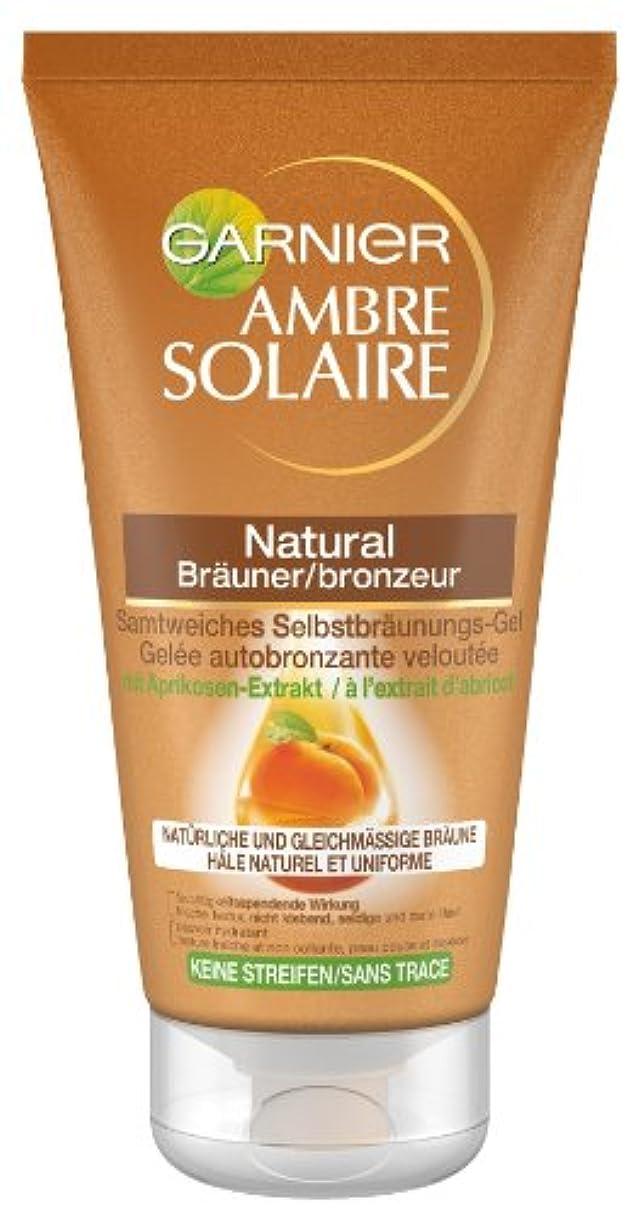 撃退する船酔い差し迫ったGarnier Ambre Solaire Selbstbräuner Natural Bräuner/Selbstbräunugs-Gel, 1er Pack (1 x 150 ml)