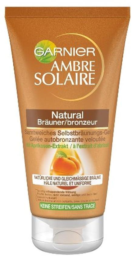 裏切り者軽減騙すGarnier Ambre Solaire Selbstbräuner Natural Bräuner/Selbstbräunugs-Gel, 1er Pack (1 x 150 ml)
