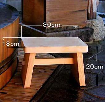 木曽ひのき風呂椅子