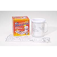 Bulk Buy: Darice Crafts for Kids Design-A-Mug 2406-20 by Darice Bulk Buy