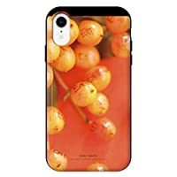 iPhoneXR iPhoneケース (ハードケース) [カード収納/耐衝撃/薄型] Oilshock Designs (オイルショックデザインズ) ripe fruit CollaBorn