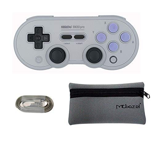 8Bitdo SN30 pro Bluetoothゲームパッド(SNエディシ...