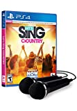 Let's Sing Country - 2 Mic Bundle (輸入版:北米) - PS4