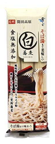 はくばく そば湯まで美味しい蕎麦 白 270g 1ケース(10個入)