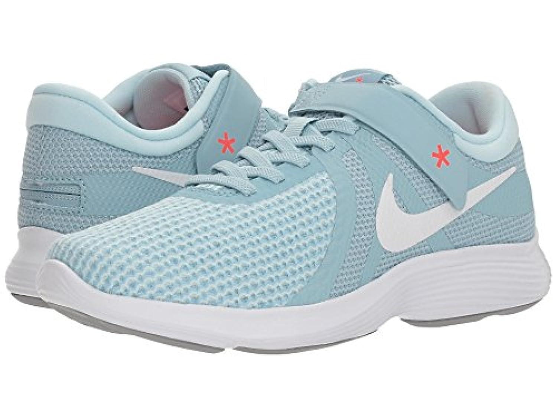 [NIKE(ナイキ)] レディーステニスシューズ?スニーカー?靴 Revolution 4 FlyEase Ocean Bliss/White/Glacier Blue/Solar Red 6.5 (23.5cm) C...